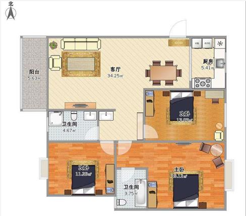 三室一厅怎么装修 三室一厅装修注意事项