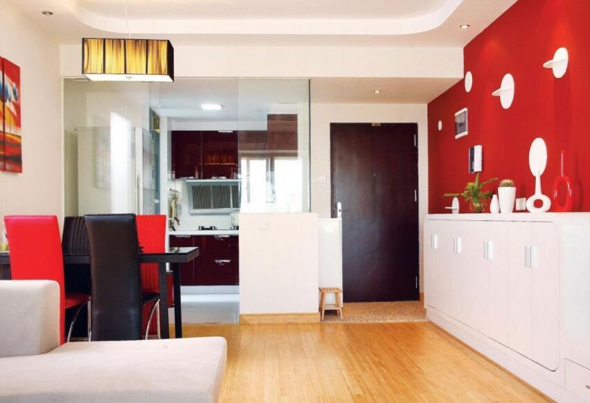 红色的装修最佳搭配方式 让家居色彩鲜活起