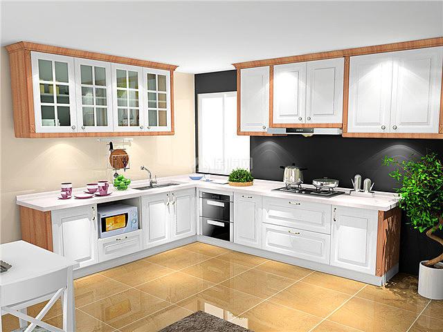 厨房橱柜和台面